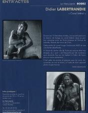 Exposition photographies Didier Labertrandie