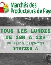 Les Marchés de producteurs de Pays de Station A
