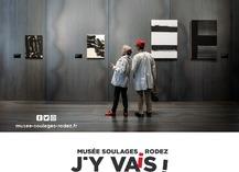 LE MUSÉE SOULAGES RODEZ EST OUVERT - Rodez